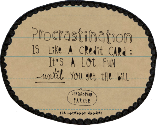 procrastination mamamarketing tip