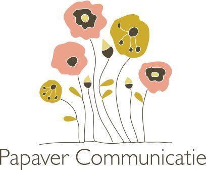 logo via etsy voor papaver communicatie voor MamaMarketing