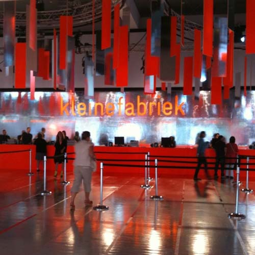 Entree Kleine Fabriek 2012