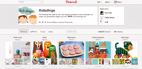 pinterest tips meer volgers kidsdinge mama marketing