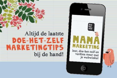 Inspirerende app vol webwinkelmarketing tips voor webwinkeliers