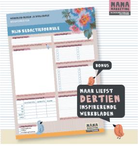 WB_Nieuwsbrieven_Webwinkel_Werkbladen