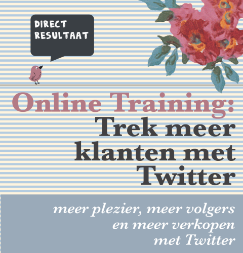 online training twitter marketing voor webwinkeliers