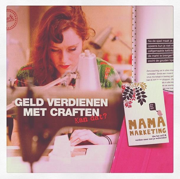 interview flow magazine met diana van ewijk van mamamarketing over craf en webwinkels