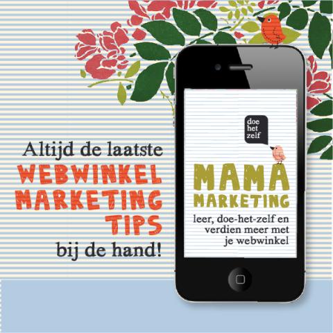 webwinkel marketing app iedere dag tips gratis voor iPhone en iPad