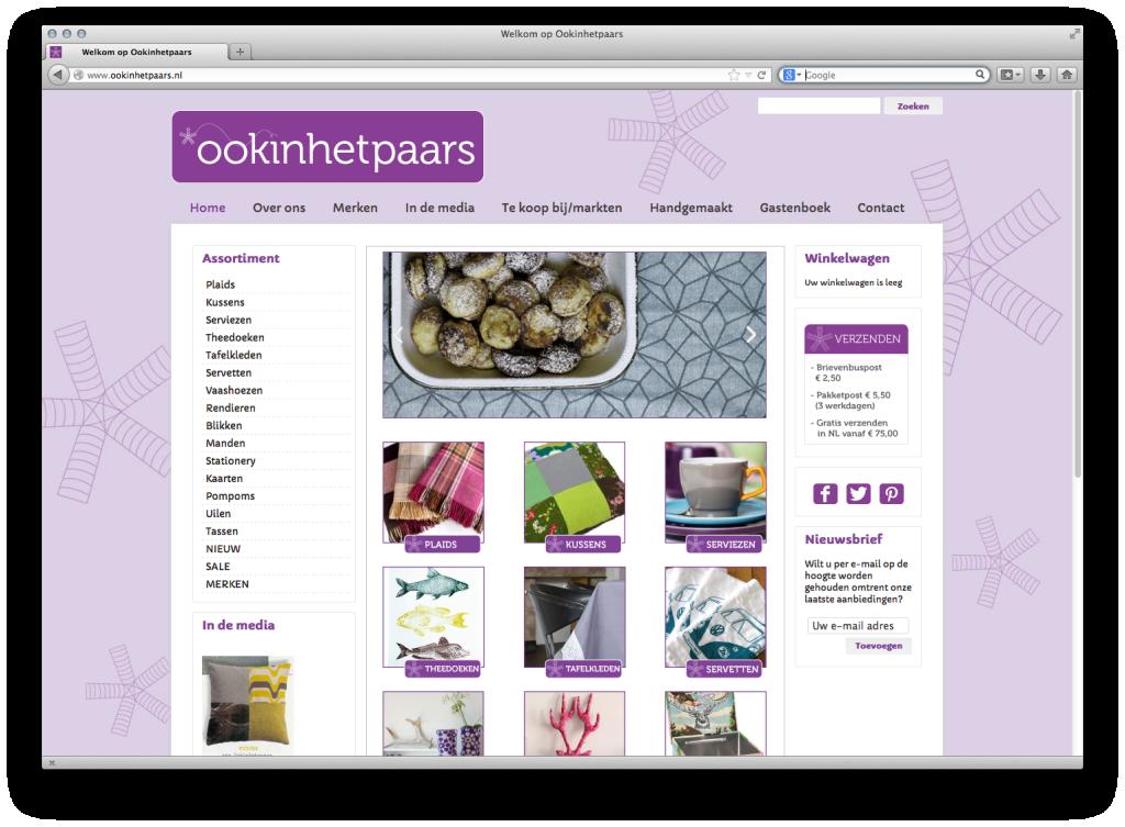 webwinkel van Ookinhetpaars