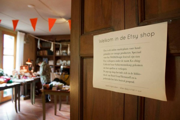 Etsy Pop-up Shop van Ka-ching op Schiermonnikoog