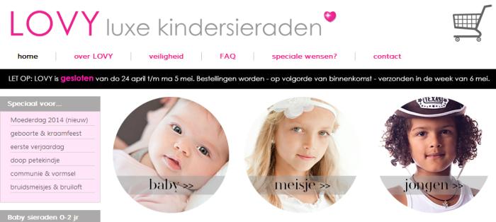 LOVY luxe babysieraden en kindersieraden van zilver   Bestel ze online