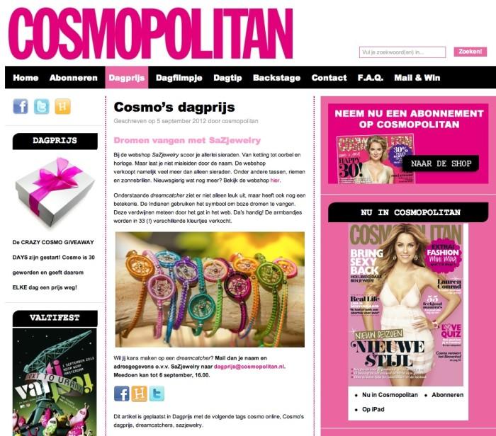 Winactie Cosmopolitan