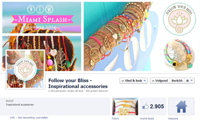 Follow your Bliss FB