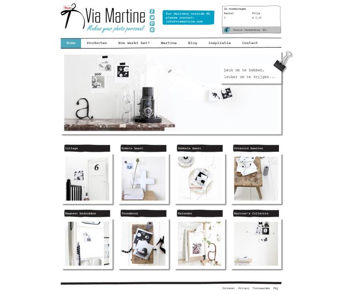 Home   Via Martine  bedruk je eigen kaartjes met instagram