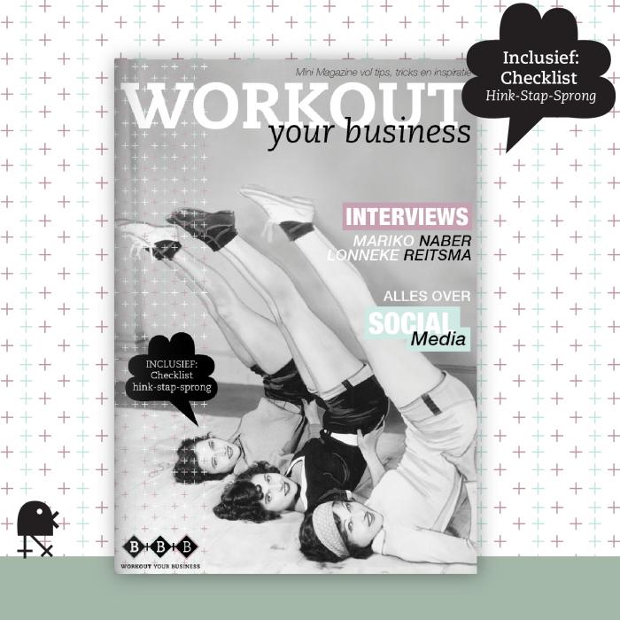 MiniMagazine met social media tips voor webwinkeliers door mamamarketing