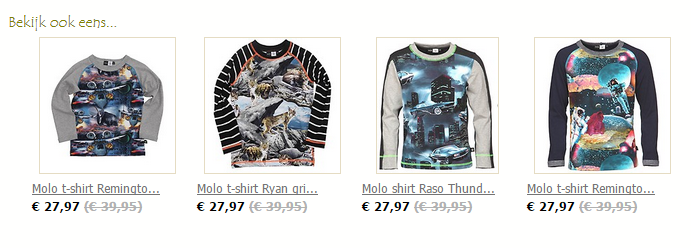 Molo t shirt Remington Monsters   Kinderkleding online