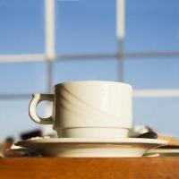 Koffie tijdens onze eerste tweetup