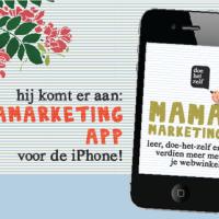 MamaMarketing App iphone