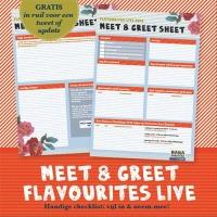 Handige dagplanner voor Flavourites Live! 2012
