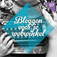 bloggen voor webwinkel door webvedettes